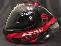 2020 X-Lite X803RS Carbon Hot Lap & Dark FREE Visor Motorbike Helmet for Ducati