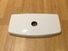 "Toilet Cistern Lid = Unbranded, ""56C-1"" Centre Flush, 350 x 185mm. White, R-94"