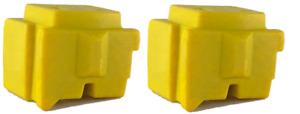 Genuine Xerox ColorQube 8570/8580 Yellow Solid Ink  2 Sticks