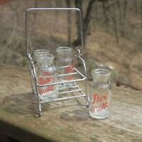 Candy Container Milk Carrier Bottles Complete