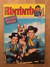 RINTINTIN numéro 85 (février 1977) - Neuf avec poster Rintintin attaché