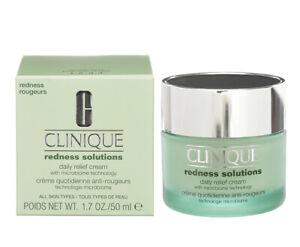 Clinique Redness Solutions Daily Relief Cream 1.7oz/50ml Exp Apr 2024 New in Box