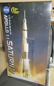 Dragon 11017 Apollo 11 Saturn V Rocket 50th Anniversary plastic model kit 1/72