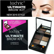Technic Brow Ultimate Kit Per Sopracciglia Make Up Set, polveri, cera, Pinzette & Spazzola
