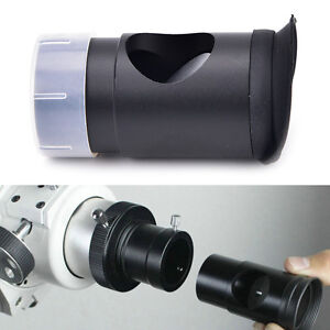 Metal 1.25 cheshire collimating eyepiece for newtonian refractor telescopes Fhz