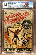 Amazing Spider-Man 1 CGC (1963) 🔥 Stan Lee/Steve Ditko 🔥