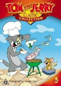 Tom And Jerry Classic Collection: Vol 5 (DVD) Region 4 - New & Sealed - RARE!