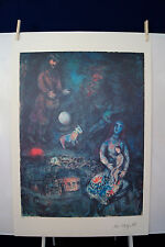 Marc Chagall  Reproduction LE Limited Ed of 3000 MEMORIES Lithograph