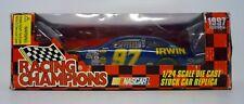RACING CHAMPIONS NASCAR #97 Irwin 1:24 Die-Cast Car KURT BUSCH AUTOGRAPH 1997