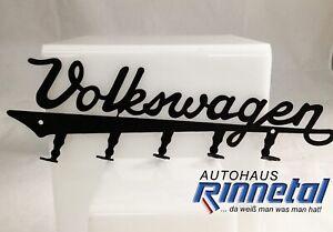 VW Schlüsselhalter, Schlüsselbrett, VW Schriftzug, Retro-Design, 111087703A