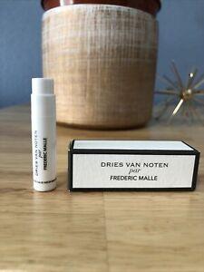 Frederic Malle Dries Van Noten EDP Sample Spray Perfume .04 oz / 1.2ml •NIB•
