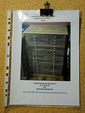 Laird-Jim's cross Stitch Charts PLANS TO BUILD AN 18 DRAWER FLOSS/CRAFT BOX