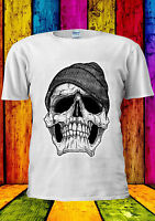 Dope Skull Black And White GEORDIE T-shirt Vest Tank Top Men Women Unisex 1787