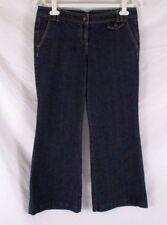 Ann Taylor LOFT Petites Womens Jeans Size 8P Blue Straight Leg Denim CB56Q