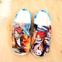Anime Fairy Tail cosplay Winter Warm Soft Plush Antiskid Indoor Home Slippers