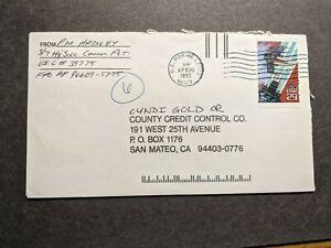 Naval FPO 96609 US MARINE CORPS 1993 USMC Cover 3/7 COMM Plt