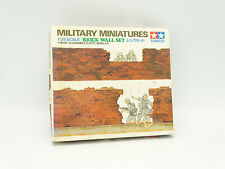 Tamiya Maquette 1/35 Militaire Army - Brick Wall Set
