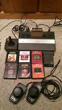 Atari 2600 jr System, tested  with 8 games.