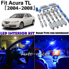 11x Blue LED Interior Lights Package Kit For 2004 2005 2006 2007 2008 Acura TL