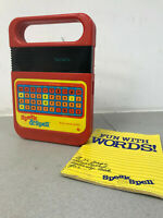 Vintage Texas Instruments Speak and Spell - Classic Toy learning tool working
