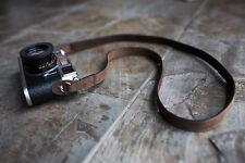Genuine Real Leather camera shoulder neck strap for EVIL Film camera 01-149