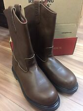 NIB RED WING MEN'S 11-INCH PULL-ON BOOT BROWN 8231 MADE IN USA 7EE