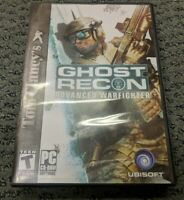 Tom Clancy's Ghost Recon Advanced Warfighter PC CD-ROM Game WINDOWS 2000/XP
