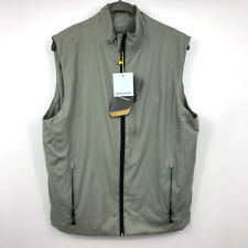 Ministry of Supply Aurora Vest M Mens All Weather Insulated Waterproof Zip NWT