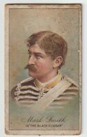 "Vintage Tobacco Trading Card Actor Mark Smith in ""The Black Hussar"""