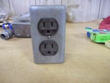Metal Electrical Plug Enclosure Box Wall Outlet *FREE SHIPPING*
