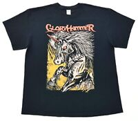 Gloryhammer Unicorn Invasion of Dundee Tee Black Size XL Mens T Shirt