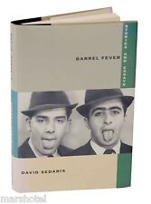 BARREL FEVER STORIES 1ST EDITION 3RD PRINTING DAVID SEDARIS HARDBACK BOOK &COVER