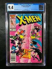 Uncanny X-Men #208 CGC 9.4 (1986) - RARE Newsstand - Hellfire Club & Nimrod app