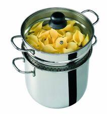 Barazzoni CUOCIPASTA Cuoci e vedi Spaghettiera Coperchio con Cestello Made in