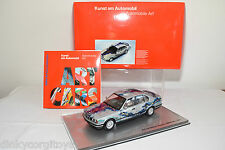 MINICHAMPS ART CAR BMW 535i 535I 1990 MATAZO KAYAMA MINT BOXED RARE SELTEN