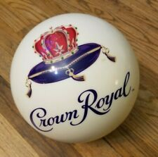 New listing CROWN ROYAL Bowling Ball Pearl White Liquor NICE USBC 6J200469C KRSF 14 LB
