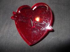 Heart Valentine's Day Cookie Cutter HRM Cut Out Plastic Icing Fondant Cutters