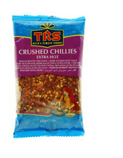 TRS Extra Hot Crushed Dry Red Chillies 100g Cooking Ingredient