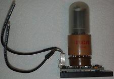 RCA 1P28A Multialkali Photocathode Photomultiplier Tube & Socket w/ circuit