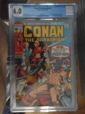 conan the barbarain 2 cgc 6.0.rare non distributed in the uk