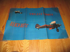 Vintage 1974 Beach Boys Endless Summer Poster Aircraft Boeing Stearman Biplane