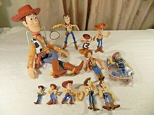 """Disney Toy Story WOODY Pull-String Talking 15"""" Doll Thinkway Plus action figures"""