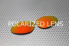 LINEGEAR Custom Lens for Oakley Penny Fire - Cardinal Red Polarized [PE-CR-POLA]