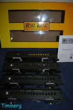 MTH RailKing 30-2846-1 NYC 4-Car MU Passenger Set w/Proto-Sound 2.0 **