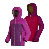 Regatta Allcrest Girls Kids Lined Breathable Waterproof Jacket Coat RRP £50