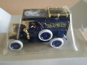 "ERTL Ford 1913 Model ""T"" Van ""Ota-Pat-Co."" Die Cast Metal Replica 1/43"