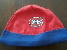 New Born Baby NHL Canadiens de Montreal Baby Tuque Hat Cap