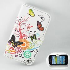 Holder Card Wallet Stand Leather Cover Case For Samsung Galaxy S3 III Mini i8190