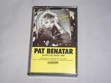 Pat Benatar Seven The Hard Way Cassette Tape  Sex As A Weapon Red Vision 1985 NM