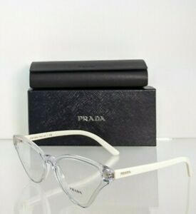 Brand New Authentic Prada Eyeglasses VPR 06X 2AZ - 1O1 54mm Frame